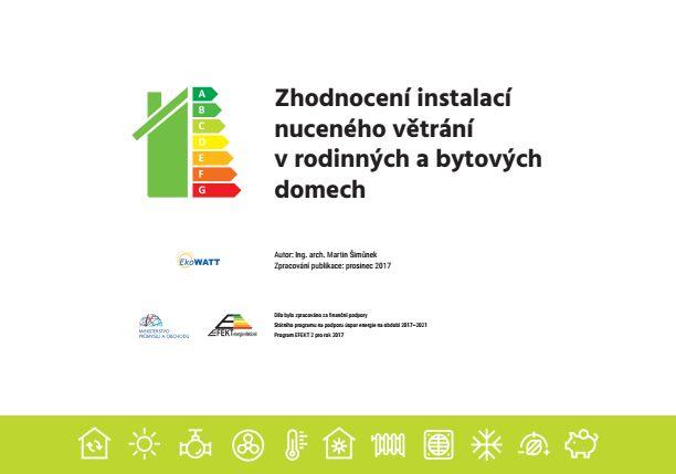 obrázek - Zhodnocení instalací nuceného větrání v rodinných a bytových domech